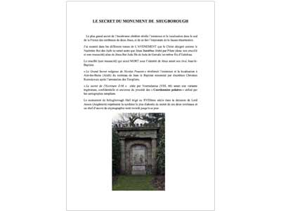 Le secret du monument de Shugborough 1