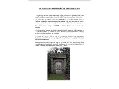 Le secret du monument de Shugborough 1