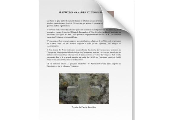 Le secret des N, I.N.R.I et Titulus inversés 1
