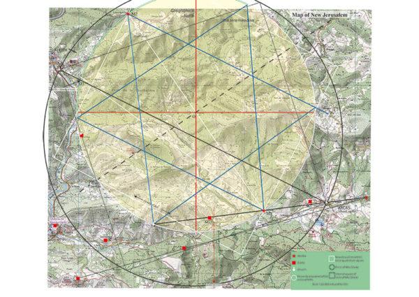 Carte Nouvelle Jérusalem - English map 1